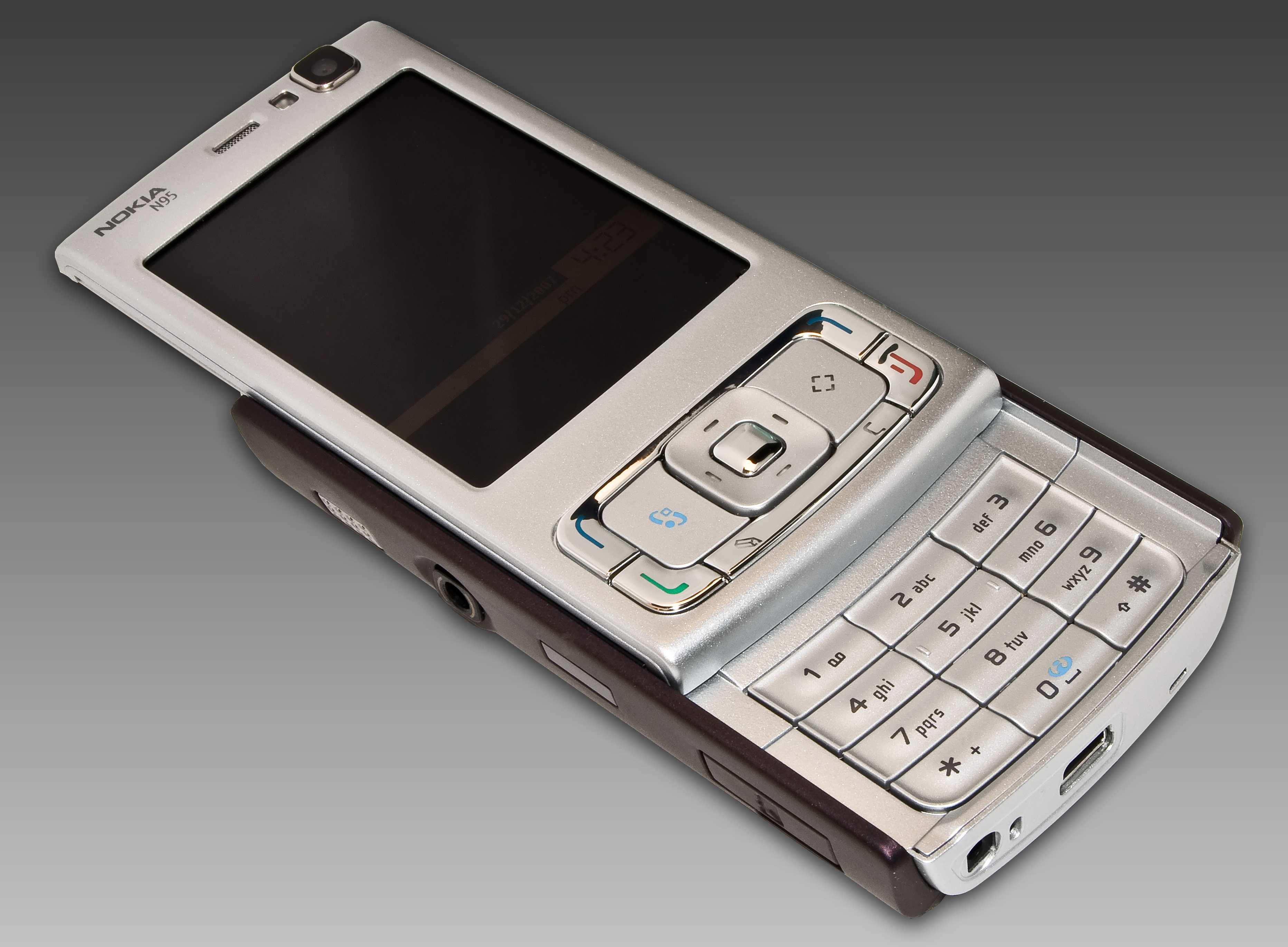 N95 Front slide open